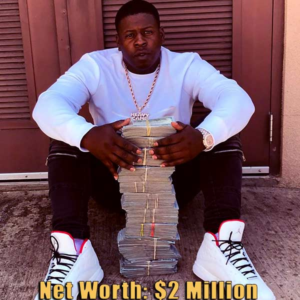 Image of American rapper, Blac Youngsta net worth is $2 million