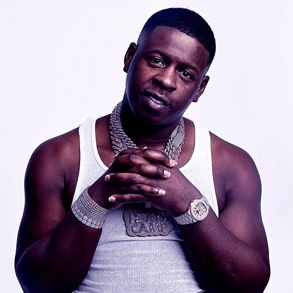 Image of American rapper, Blac Youngsta
