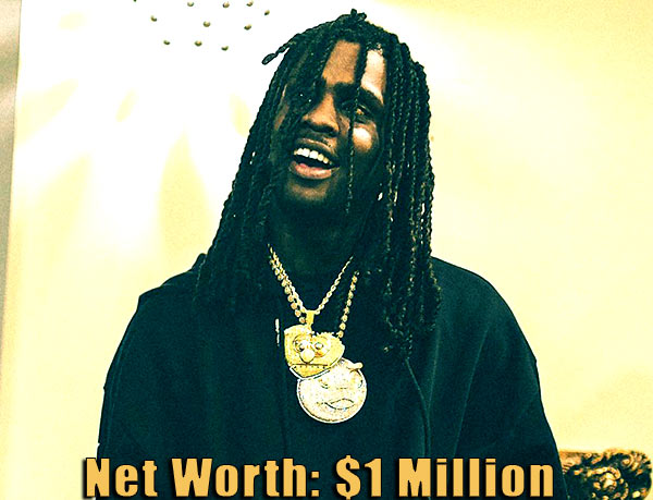 Image of American rapper, Chief Keef net worth is $1 million