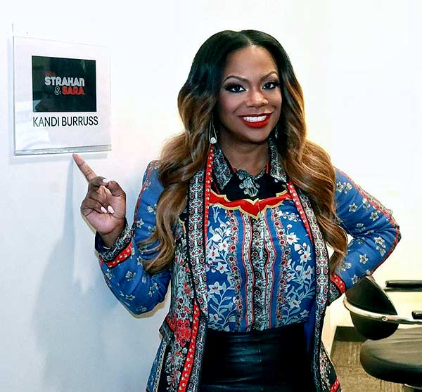 Image of Kandi Burruss from the TV show, The Real Housewives of Atlanta
