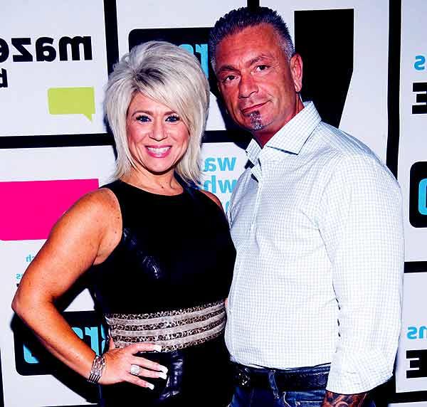 Image of Larry Caputo with his ex-wife Theresa Caputo