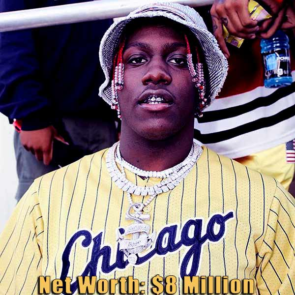 Image of American rapper, Lil Yachty net worth is $8 million