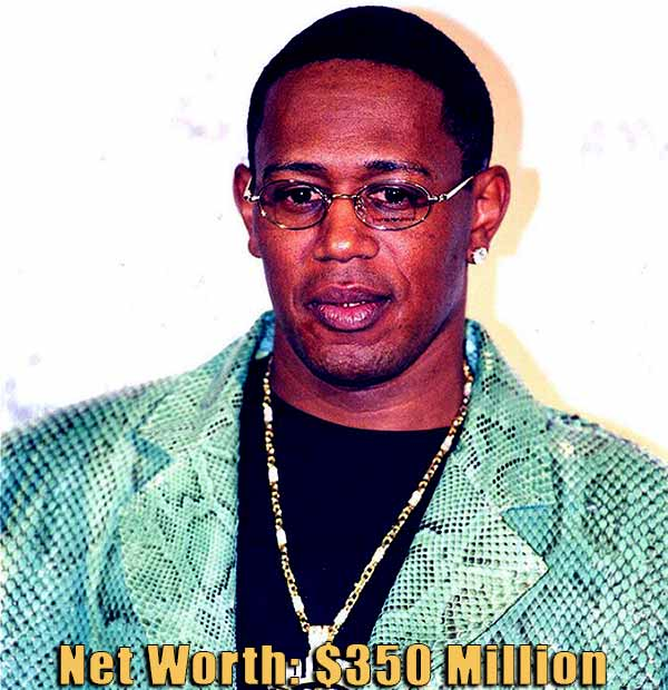 Image of American rapper, Master P net worth is $350 million
