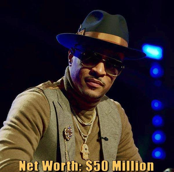 Image of American rapper, T.I net worth is $50 million