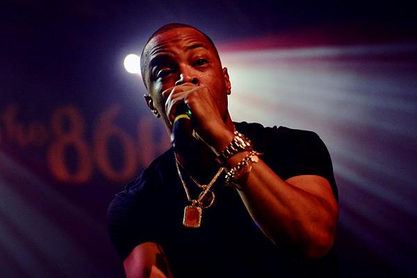 Image of American rapper, T.I