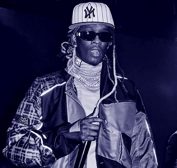Image of American rapper, Young Thug