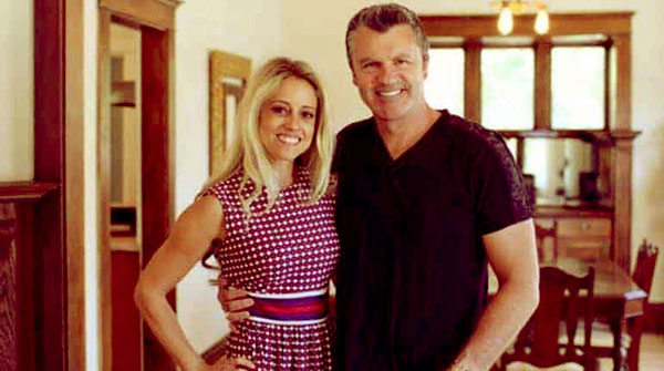 Image of Nicole Curtis with her ex-husband Shane Maguire